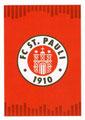 Sticker 292: FC St. Pauli Wappen; Fußball Bundesliga (Offizielle Sticker-Sammlung 2017/2018); Topps