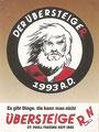 Sticker ohne Nummer: Der Übersteiger; FC. St. Pauli Zugänge 2009/2010; Projekt: Jugend forscht oder forsche Jugend?; Übersteiger