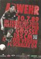 Carlos Zambrano; Rückseite Autogrammkarte: Saison 2012/13 (2. Bundesliga)