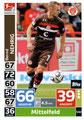 Trading Card 542: Bernd Nehrig (Kapitän); Topps Match Attax Action 2018/2019; Topps