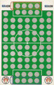 Rubbelkarte ohne Nummer: HSV - FC St. Pauli; Fußball-Sammel-Power Serie 1; Sun Edition, Eching