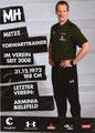Andre Trulsen; Rückseite Autogrammkarte: Saison 2018/19 (2. Bundesliga)