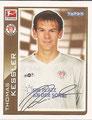 Sticker 344: Fußball Bundesliga (Offizielle Bundesliga Sticker-Sammlung 2010/2011 Autogramm-Auflage); Topps