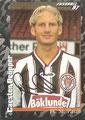 Sticker 382 mit Orginalunterschrift: Fußball' 97; Panini Bilderdienst, Nettetal, Kaldenkirchen