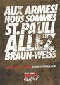 Edgar Card 17.745: Aux Armes! Nous Sommes St. Pauli Allez Braun-Weiss