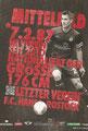 Florian Kirschke; Rückseite Autogrammkarte: Saison 2012/13 (2. Bundesliga)