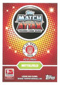 Trading Card 441: Rückseite Trading Card; Topps Match Attax 2016/2017; Topps