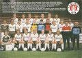 Mannschaftskarte 1: FC St. Pauli 1910; Saison: 1984/85; Ligazugehörigkeit: 2. Bundesliga