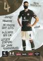 Philipp Ziereis; Rückseite Autogrammkarte: Saison 2020/21 (2. Bundesliga) Variante 2: Rückseite: Schriftzug oben rechts: Mein Verein 111