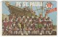 Vorderseite:    FC St. Pauli Hamburg von 1910 e.V.: Kartennummer: K 972 06.92 3000 DPR, Auflage: 3000 Stück
