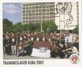 Sticker 151: Trainingslager Kuba 2005; Sportliche Geschichte; St. Pauli Sammeln! Panini Bilderdienst, Stuttgart