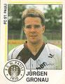 Sticker 253 mit Originalunterschrift: Fußball 91; Panini Bilderdienst, Unterschleißheim