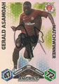 Trading Card 386 mit Orginalunterschrift: Match Attax Traiding Card Game 2010/2011; Topps