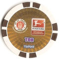 Chipz ohne Nummer: Rückseite Tor; Bundesliga Chipz 2010/2011; Topps