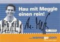 Werbekarte: Thomas Meggle; Saison: 2000/01; Anmerkung: Werbung für www.wanna.go.com