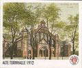 Sticker 108: Alte Turnhalle 1912; Tor Tor Millerntor; St. Pauli Sammeln! Panini Bilderdienst, Stuttgart