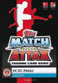 Trading Card 375: Rückseite Trading Card; Topps Match Attax 2019/2020; Topps