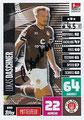 Trading Card 690: Lukas Daschner mit Orginalunterschrift; Topps Match Attax Extra 2020/2021; Topps