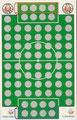 Rubbelkarte ohne Nummer: FC St. Pauli - FC Hansa Rostock; Fußball-Sammel-Power Serie 1; Sun Edition, Eching