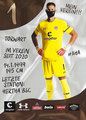 Dennis Smarsch; Rückseite Autogrammkarte: Saison 2020/21 (2. Bundesliga)