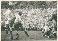 Sammelbild 14: Vorrunde: FC St. Pauli – TuS Neuendorf 4:0 (1:0); Deutsche Fußball Meisterschaft 1950; Vogeley, Nährmittel, Pudding, Hameln
