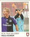 Sticker 133: Hamburg Sammelt Hamburg; Anmerkung: Rubrik: Jahr100 Elf; Juststicket