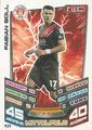 Trading Card 433: Fabian Boll; Match Attax Trading Card Game Bundesliga 2013/2014; Topps
