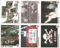 Panini Album-Beilage: 141: 2:0 gegen den HSV 1977 - 142: Tor zum Aufstieg 1977 - 143: Aufstieg 1988 - 147: Aufstieg 2001 in Nürnberg - 148: 2:1 gegen Bayern 2002 - 149: Weltpokalbesieger-Tag; St. Pauli Sammeln!; Panini Bilderdienst, Stuttgart