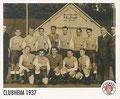 Sticker 133: Clubheim 1937; Sportliche Geschichte; St. Pauli Sammeln! Panini Bilderdienst, Stuttgart