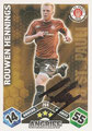 Trading Cards 268 mit Orginalunterschrift: Match Attax Traiding Card Game 2010/2011; Topps