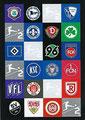 Traiding Card P4: 2. Bundesliga Team Logos; Topps Match Attax 2019/2020; Topps