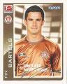 Sticker 357: Fußball Bundesliga (Offizielle Bundesliga Sticker-Sammlung 2010/2011 Autogramm-Auflage); Topps
