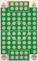 Rubbelkarte ohne Nummer: FC St. Pauli - VfB Stuttgart; Fußball-Sammel-Power Serie 1; Sun Edition, Eching