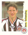 Sticker 198 mit Orginalunterschrift: Fußball Bundesliga (Die Endphase der Saison 96/97); Panini Bilderdienst, Nettetal, Kaldenkirchen