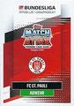 Trading Card 376: Rückseite Trading Card; Topps Match Attax 2020/2021; Topps