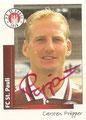 Sticker 443 mit Originalunterschrift: Fußball' 96; Panini Bilderdienst, Unterschleißheim