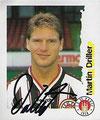 Sticker 199 mit Orginalunterschrift: Fußball Bundesliga (Die Endphase der Saison 96/97); Panini Bilderdienst, Nettetal, Kaldenkirchen