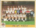 Sticker 382 links: Mannschaftsbild, Sticker 383 rechts: Mannschaftsbild; Fußball 85; Panini Bilderdienst, Tütenbilder, Planegg