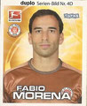 Sticker 4D: Fabio Morena, Sticker 6B: Fabian Boll; Bundesliga Stars Quartett 2011; Anmerkung: In Kooperation mit Toops; Ferrero