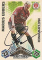 Trading Card 387 mit Orginalunterschrift: Match Attax Traiding Card Game 2010/2011; Topps