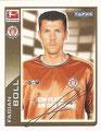 Sticker 355: Fußball Bundesliga (Offizielle Bundesliga Sticker-Sammlung 2010/2011 Autogramm-Auflage); Topps
