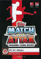 Trading Card 600: Rückseite Trading Card; Topps Match Attax Action 2019/2020; Topps
