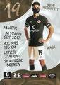 Luca Zander; Rückseite Autogrammkarte: Saison 2020/21 (2. Bundesliga) Variante 2: Rückseite: Schriftzug oben rechts: Mein Verein 111