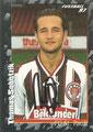 Sticker 385 mit Orginalunterschrift: Fußball' 97; Panini Bilderdienst, Nettetal, Kaldenkirchen