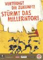 Edgar Card 7.104: Verteidigt die Zukunft! Stürmt das Millerntor!