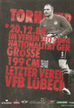 Benedikt Pliquett; Rückseite Autogrammkarte: Saison 2012/13 (2. Bundesliga)