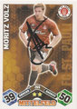 Trading Cards 266 mit Orginalunterschrift: Match Attax Traiding Card Game 2010/2011; Topps