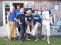 """Unser Sommertreffen 2007 in Rosenfelde mit """"Füße schön"""" und HSV-Dress – ist doch klar, oder?"""