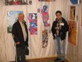 L'artista Alessandro Avarello con suo padre, mio zio Silvio