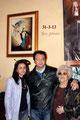 Lucia La Sorsa, Vincenzo Massimillo e l'artista Rosa Potere (Foto di Francesco Paolo Occhinegro)